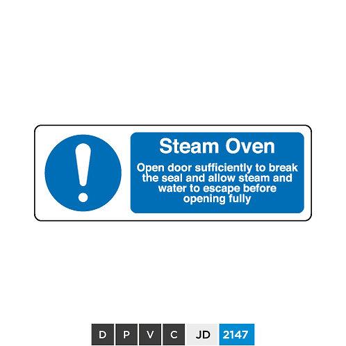 Steam Oven notice