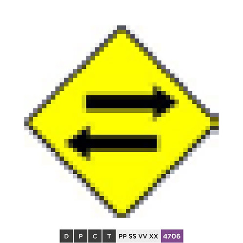 Two-way Traffic Crossing
