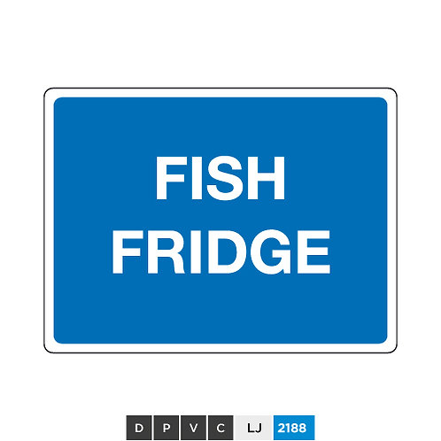 Fish fridge