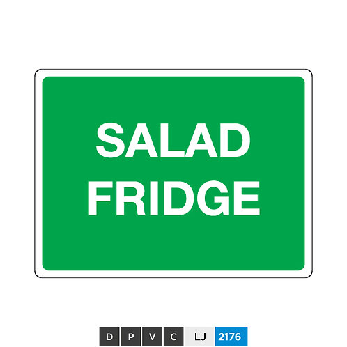 Salad fridge