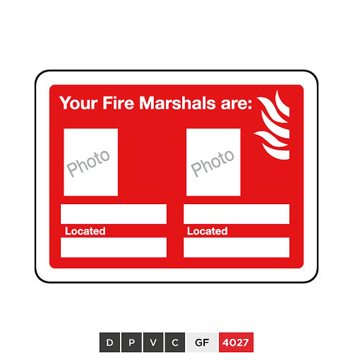 Your Fire Marshal are (insert photo and text)