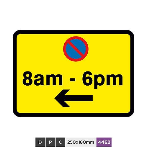 At 8am - 6pm left arrow