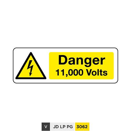 Danger, 11,000 Volts