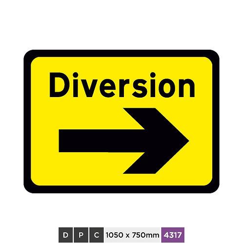 DIVERSION (right arrow)