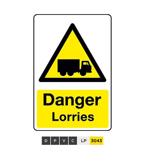 Danger, Lorries