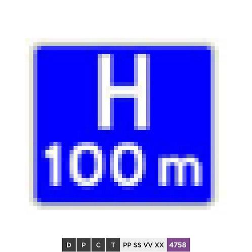 Hospital 100 m