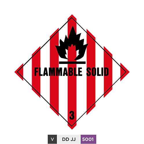 Flammable Solid 3