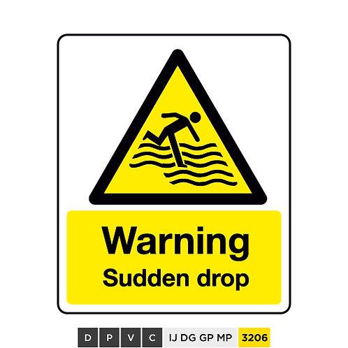 Warning, Sudden drop
