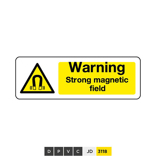 Warning, Strong magnetic field
