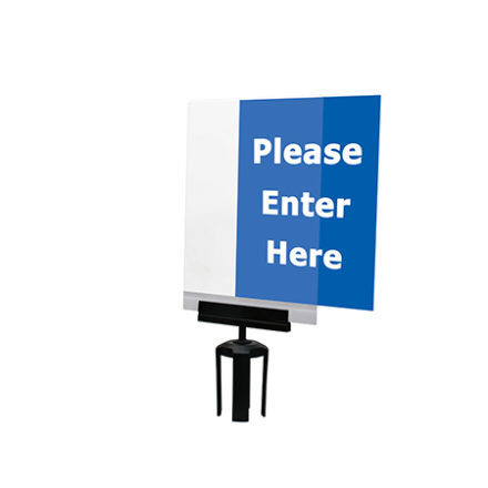 ACRYLIC PAPER SIGN HOLDER