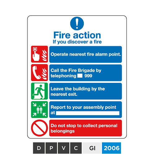 Fire action Guide