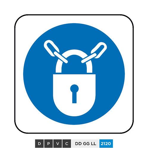 Keep locked symbol