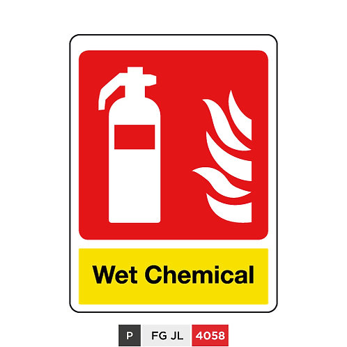 Fire extinguisher, Wet Chemical