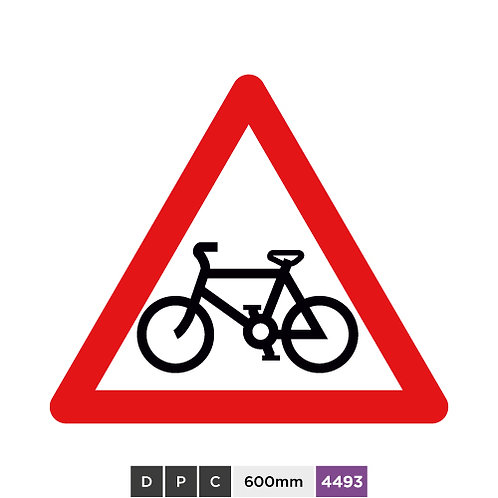 Cycle route ahead