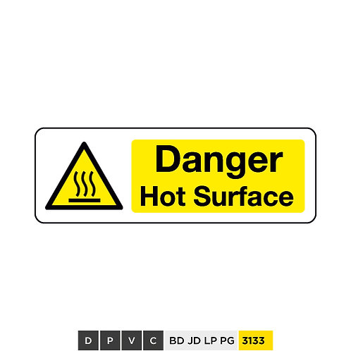 Danger, Hot Surface