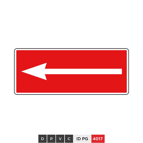 Directional arrow (left)