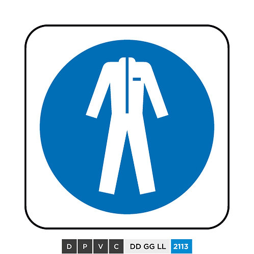 Protective clothing symbol