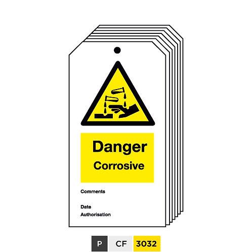 Danger, Corrosive