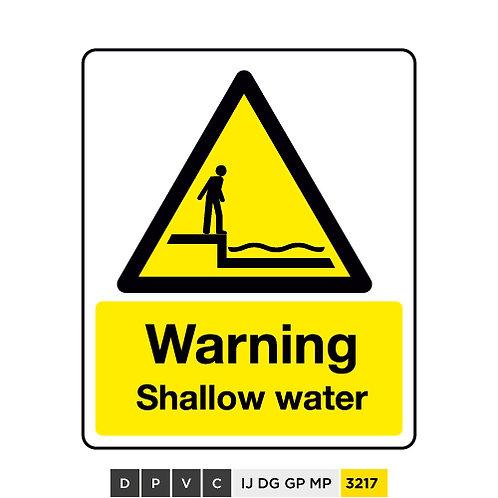 Warning, Shallow water
