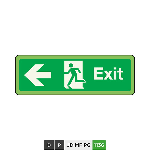 Exit (arrow left)