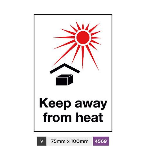Keep away from heat
