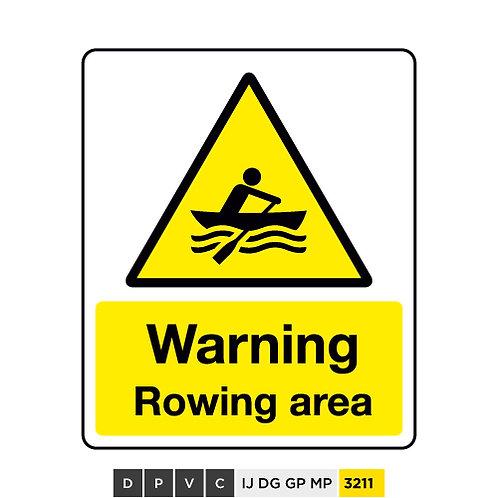 Warning, Rowing area