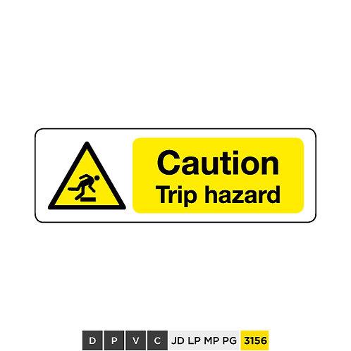 Caution, Trip hazard