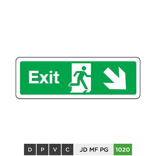 Exit (arrow down-right)
