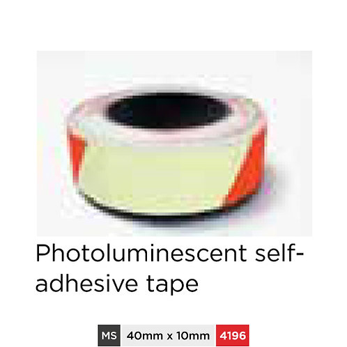 Photoluminescent self-adhesive tape