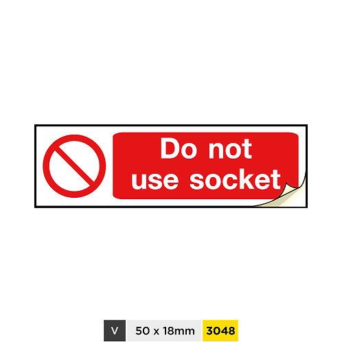 Do not use socket
