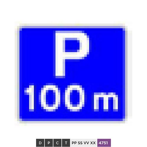 Parking 100 m