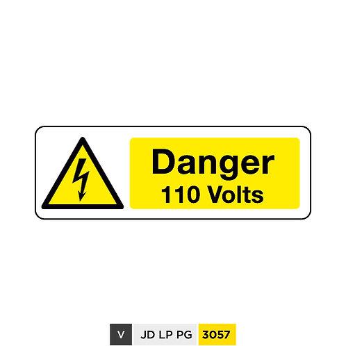 Danger, 110 Volts