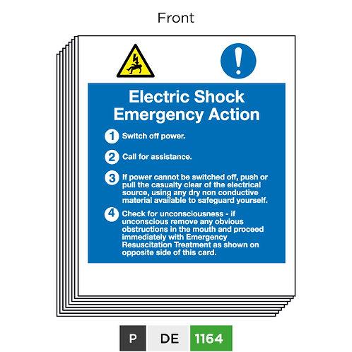 Electric Shock Emergency Action - Emergency Resuscitation Treatment
