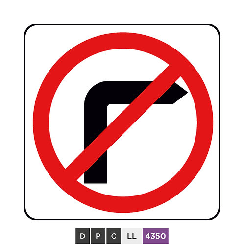 No right turn / No turn right
