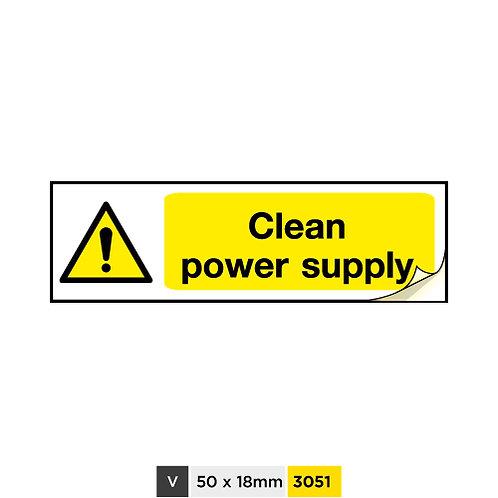 Clean power supply