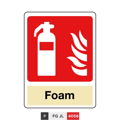Fire extinguisher, Foam
