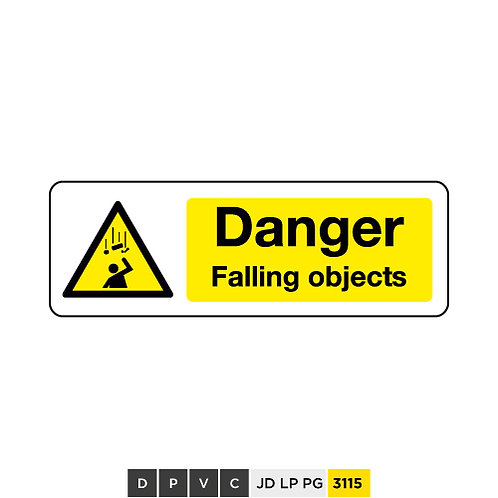 Danger, Falling objects