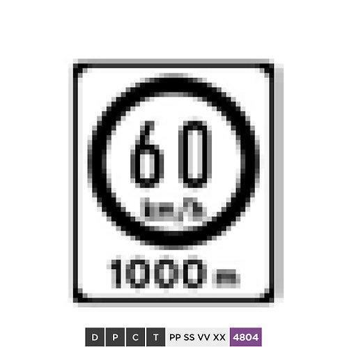 60 km/h 1000 m