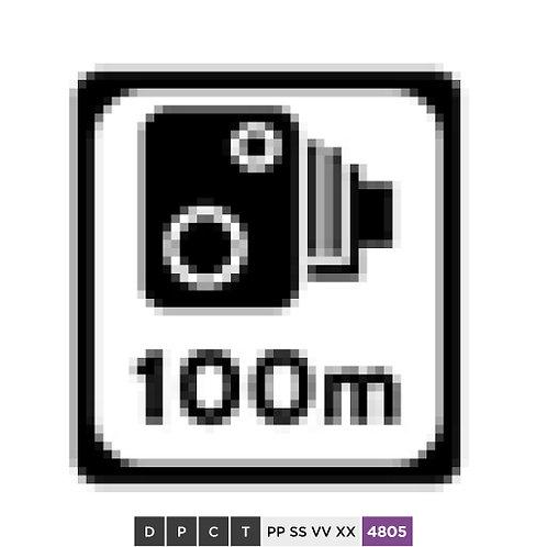 Speed camera 100 m