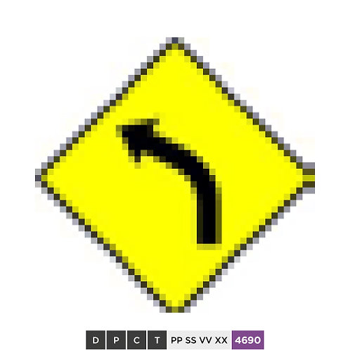 The road ahead curves to the left