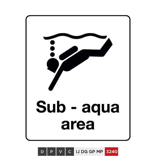 Sub - aqua area