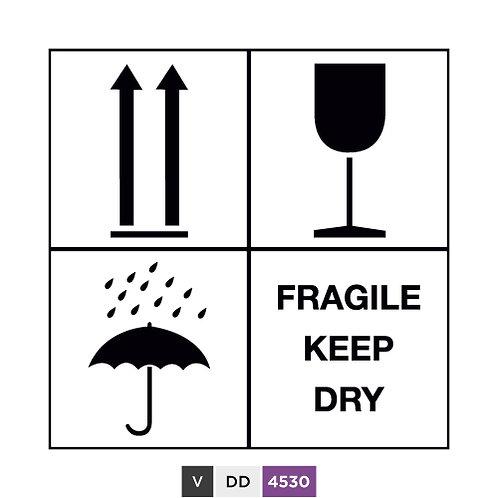 Fragile keep dry