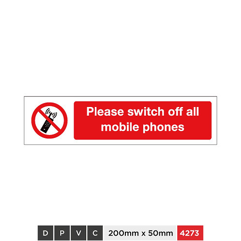 Please switch off all mobile phones