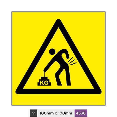 Heavy warning