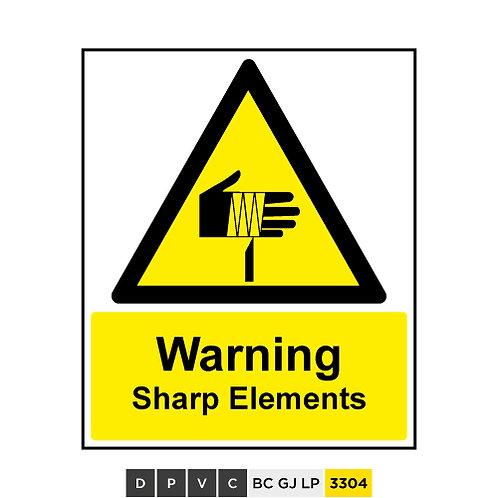 Warning, Sharp Elements