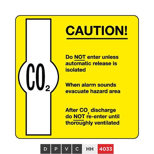 CO2 Caution