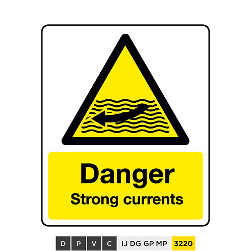 Warning, Strong currents