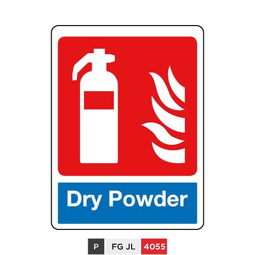 Fire extinguisher, Dry Powder