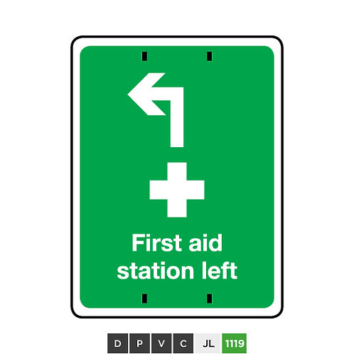 First Aid Station Left