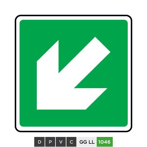 Down-left arrow